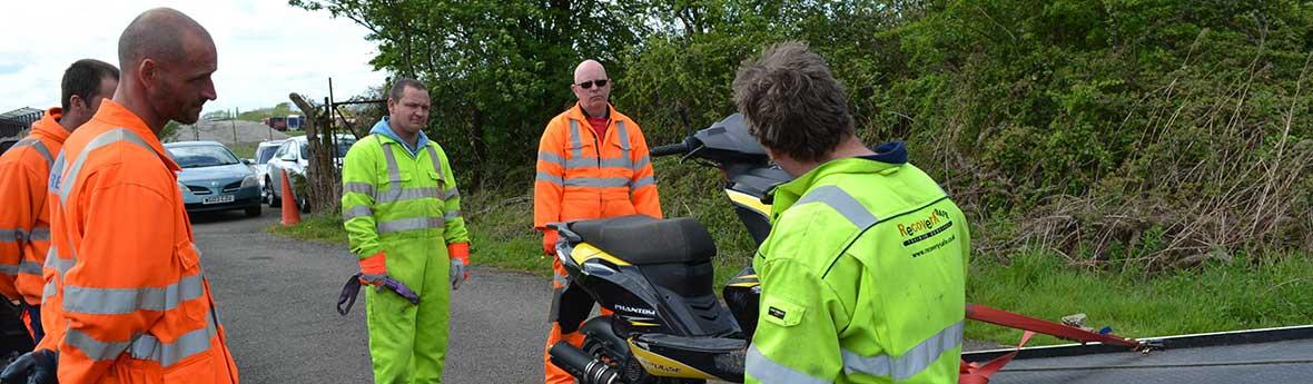 VR8 Handling Motorcycles