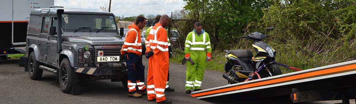VR9 Ancillary Equipment (Motorcycle Recovery)